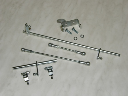 Carburetter control linkage Volvo